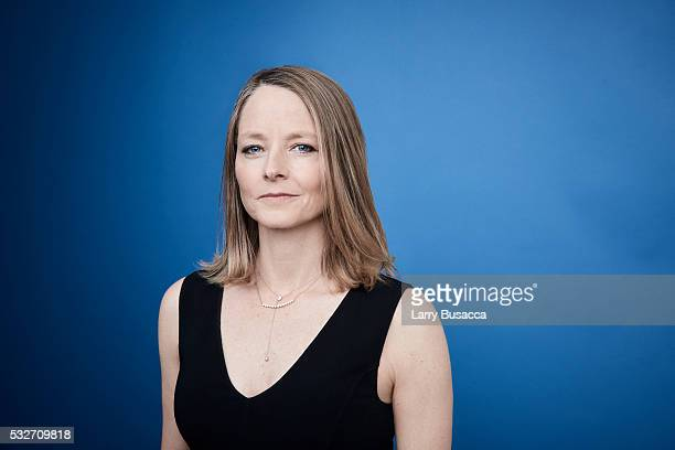 Actress/director Jodie Foster poses for a portrait at the Tribeca Film Festival on April 19 2016 in New York City