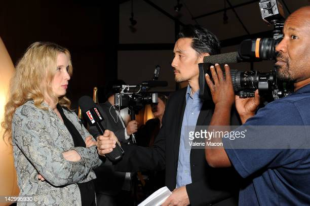 Actress/director Julie Delpy attends the 16th Annual City Of Lights City Of Angels Film Festival reception at Directors Guild Of America on April 16...