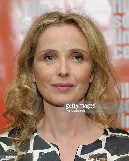 "Actress/director Julie Delpy attends the screening of "" 2 Days In New York"" presented by the Film Society of Lincoln Center at The Film Society of..."