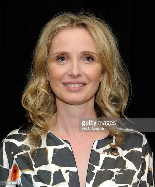 Actress/director Julie Delpy attends the screening of 2 Days In New York presented by the Film Society of Lincoln Center at The Film Society of...