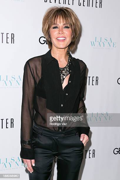 Actress/director Laura Dunn attends as Genlux cover girl Lisa Vanderpump hosts the magazine's new issue launch party on November 14 2013 in Beverly...