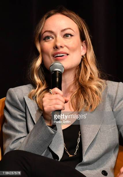 """Actress/director Olivia Wilde speaks onstage during """"Booksmart"""" screening Q&A during 22nd SCAD Savannah Film Festival on October 29, 2019 at Trustees..."""