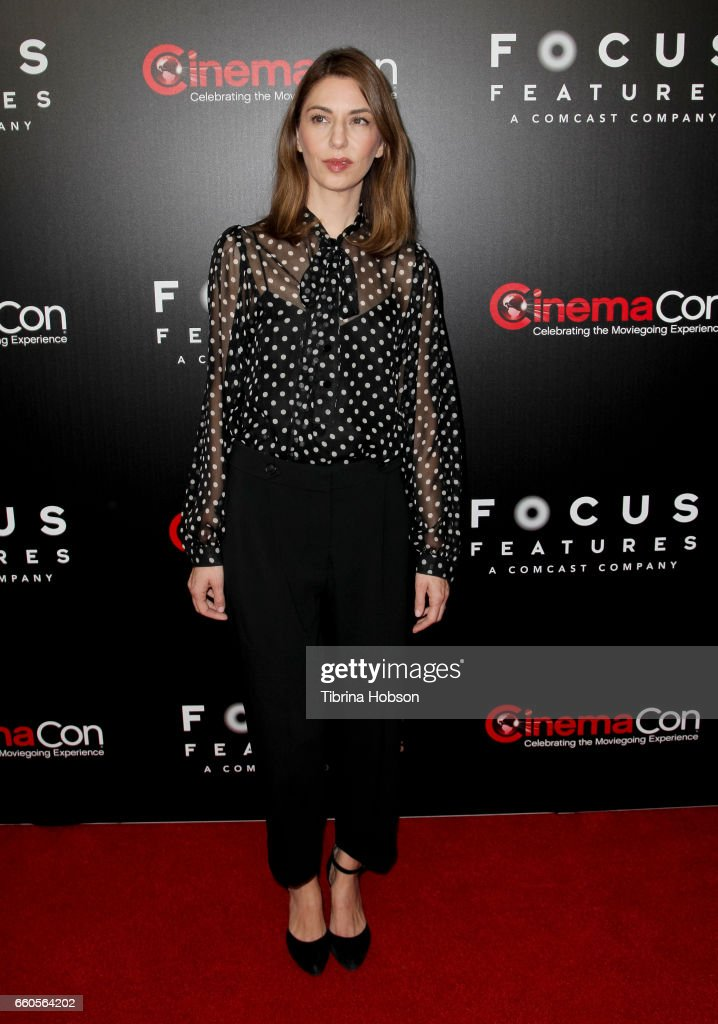 Actress/director Sofia Coppola attends Focus Features luncheon and studio program celebrating 15 Years during CinemaCon 2017 at Caesars Palaceon March 29, 2017 in Las Vegas, Nevada.
