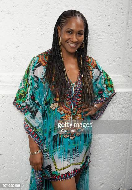 Actress/director Terri J Vaughn poses for a portrait at the 22nd Annual American Black Film Festival at the Loews Miami Beach Hotel on June 14 2018...