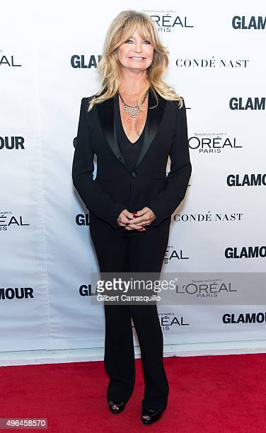 Actress/director/producer Goldie Hawn attends Glamour's 25th Anniversary Women Of The Year Awards at Carnegie Hall on November 9 2015 in New York City