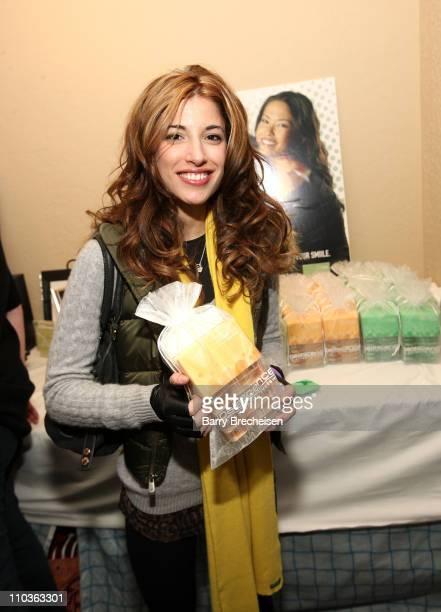 Actress/director/writer Tania Raymonde visits the Kari Feinstein Sundance Style Lounge on January 17 2009 in Park City Utah