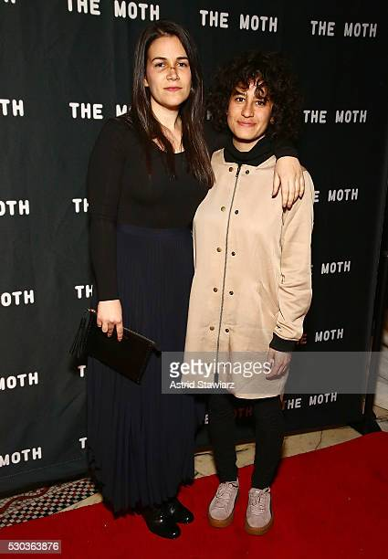 Actresses Abbi Jacobson and Ilana Glazer attend The 2016 Glam Rock Moth Ball on May 10, 2016 in New York, New York.