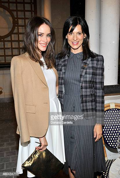 Actresses Abigail Spencer and Perrey Reeves attend as Brooks Brothers celebrates the holidays with St Jude Children's Research Hospital and Town...