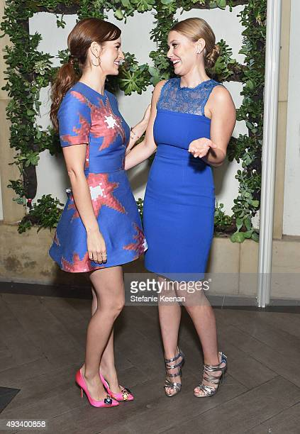 Actresses Ahna O'Reilly and Julianna Guill attend the 22nd Annual ELLE Women in Hollywood Awards presented by Calvin Klein Collection L'Oréal Paris...