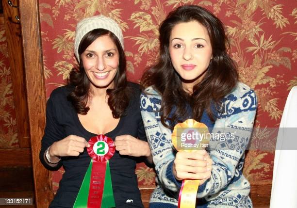 Actresses Alexandra LeMosle and Annet Mahendru at the House Of Hype LIVEstyle Lounge on January 21 2011 in Park City Utah