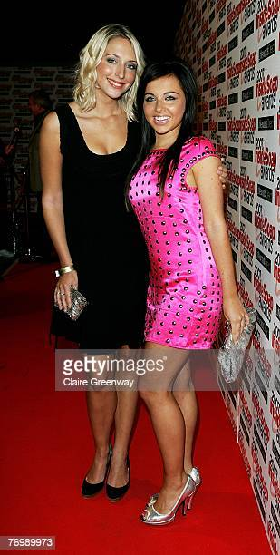 Actresses Ali Bastian and Louisa Lytton attends the Inside Soap Awards 2007 at Gilgamesh Camden on September 24 2007 in London England