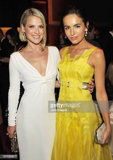 Actresses Ali Larter and Camilla Belle attend Audi Presents The Art of Elysium's 5th annual HEAVEN at Union Station on January 14 2012 in Los Angeles...