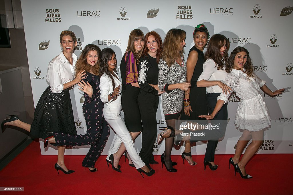 'Sous Les Jupes Des Filles' Paris Premiere At UGC Normandy : Photo d'actualité