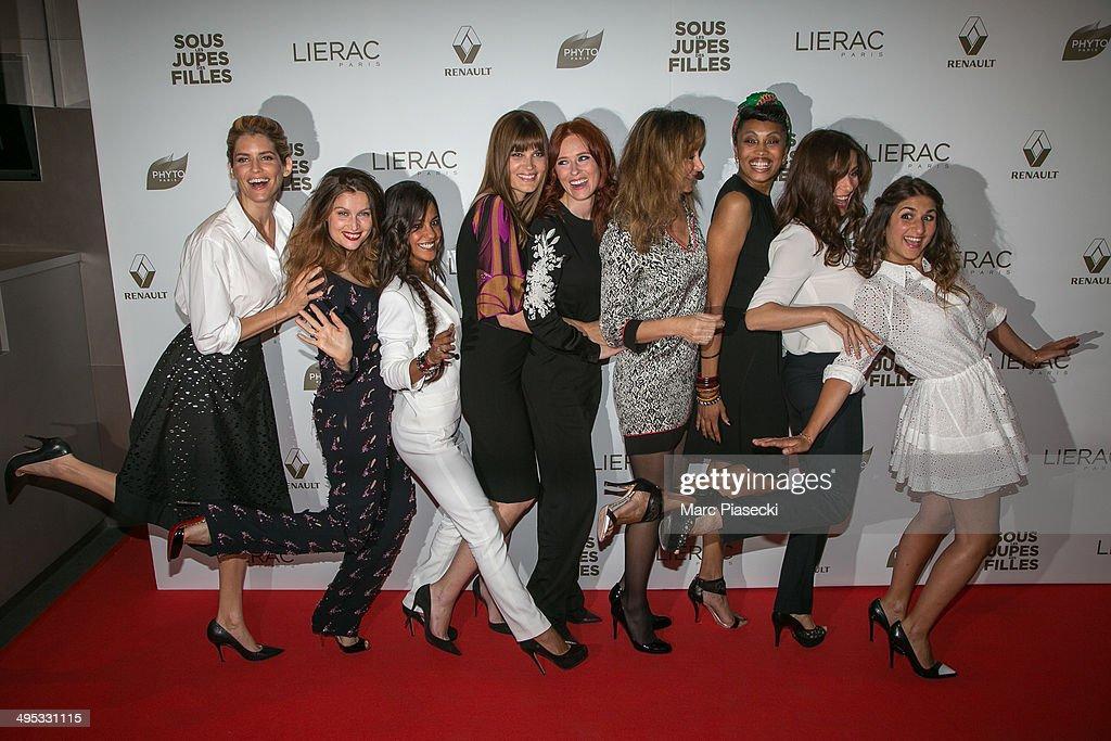 'Sous Les Jupes Des Filles' Paris Premiere At UGC Normandy