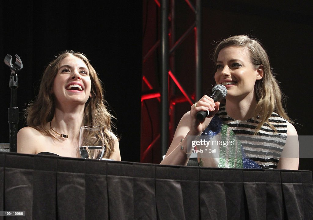 Gillian Jacobs And Alison Brie Community