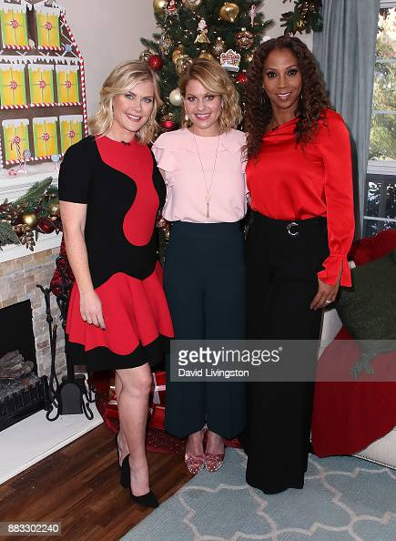"""Alison Cameron Makeup Artist Bridal Makeup For Black And: Celebrities Visit Hallmark's """"Home & Family"""" Photos And"""