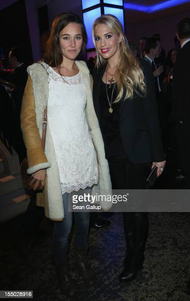 Actresses Alissa Jung and LaraIsabelle Rentinck attend the afterparty at the Felix club following the Germany premiere of Skyfall on October 30 2012...