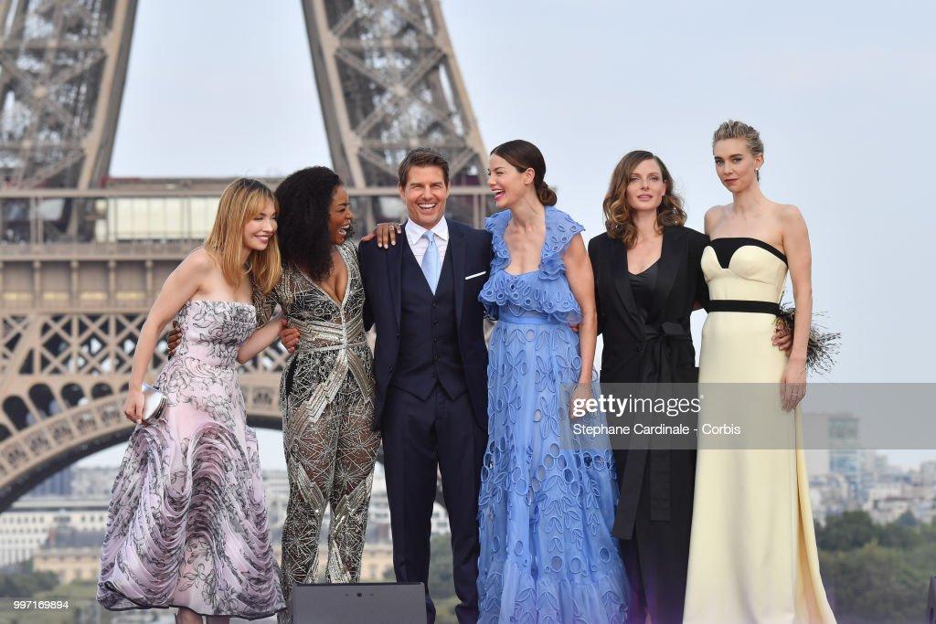 'Mission: Impossible - Fallout' premieres in Paris