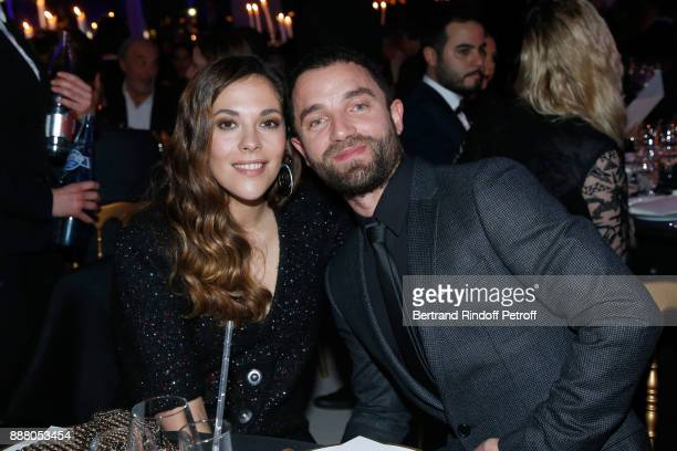 Actresses Alysson Paradis and her companion Guillaume Gouix attend the Annual Charity Dinner hosted by the AEM Association Children of the World for...