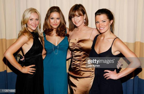 Actresses Amanda Baker Bobbie Eakes Chrishell Stause and Melissa Claire Egan arrive at the 23rd Annual Starlight Starbright Children's Foundation...