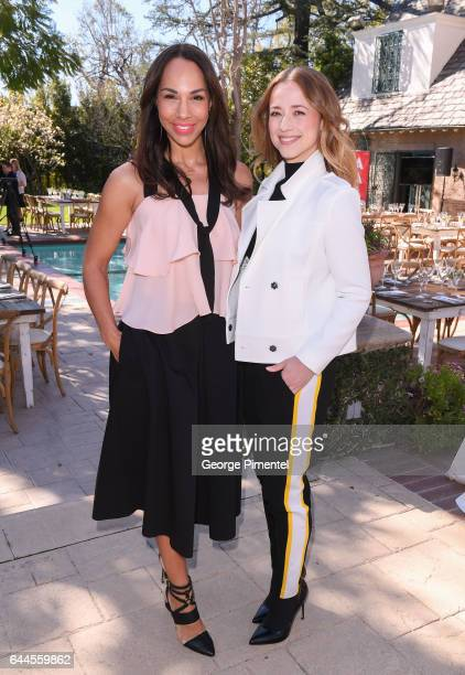 Actresses Amanda Brugel and Karine Vanasseattend the Canadian Brunch Reception Honoring Canadian Nominees For The 89th Academy Awards And The 32nd...