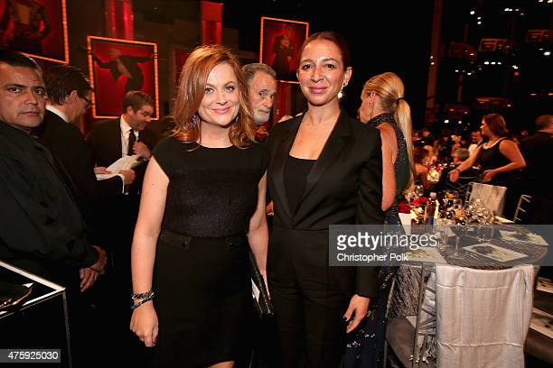 Actresses Amy Poehler and Maya Rudolph attend the 2015 AFI Life Achievement Award Gala Tribute Honoring Steve Martin at the Dolby Theatre on June 4...