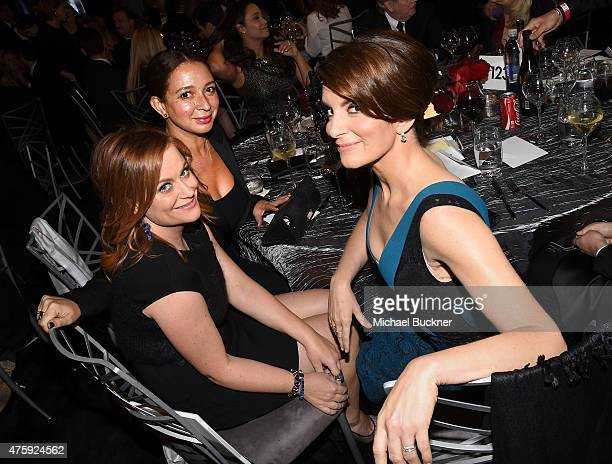 Actresses Amy Poehler Maya Rudolph and Tina Fey attend the 2015 AFI Life Achievement Award Gala Tribute Honoring Steve Martin at the Dolby Theatre on...