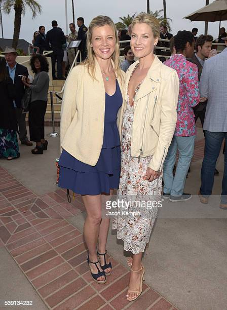 Actresses Amy Smart and Ali Larter attend Heal the Bay's annual Bring Back the Beach Gala at on June 9 2016 in Santa Monica California