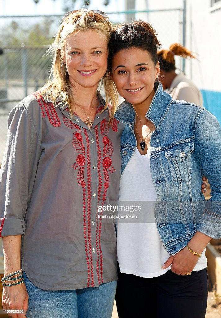 Environmental Media Association Celebrates Earth Day With Emmanuelle Chriqui, Carter Oosterhouse And Amy Smart