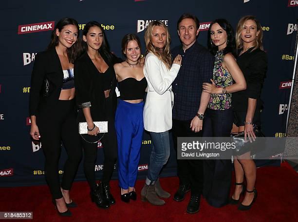 Actresses Ana Ayora Cherie Jimenez Ryann Shane and Tanya Clarke creator/executive producer Jonathan Tropper and actresses Eliza Dushku and Jennifer...