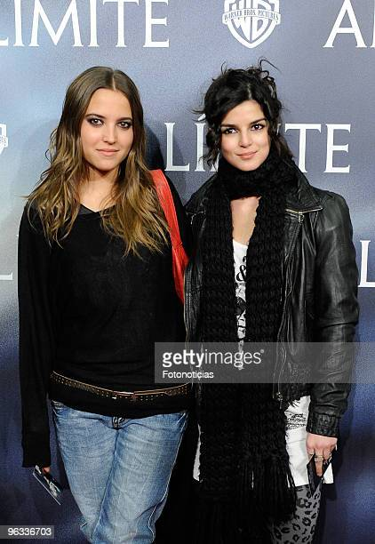 Actresses Ana Fernandez and Clara Lago attend the premiere of Edge of the Darkness at Palafox cinema on February 1 2010 in Madrid Spain