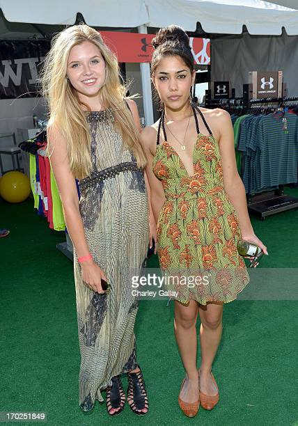 Actresses Ana Mulvoy Ten and Tasie Lawrence attend the 1st Annual Children Mending Hearts Style Sunday on June 9 2013 in Beverly Hills California