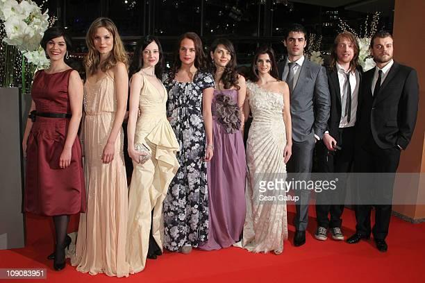 Actresses and 2011 Shooting Stars Marija Skaricic Sylvia Hoeks Andrea Riseborough Alicia Vikander and Natasha Petrovic Nik Xhelilaj Domhnall Gleeson...