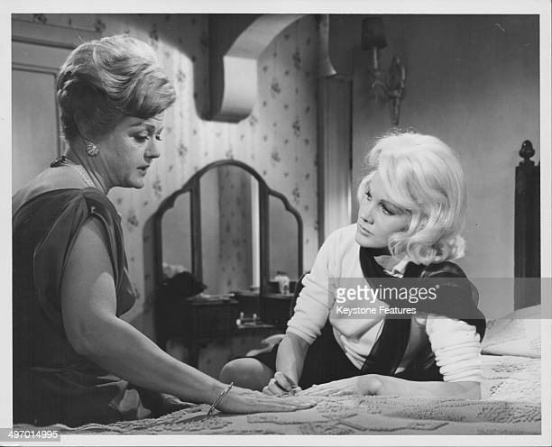 Actresses Angela Lansbury and Carroll Baker in a scene from the movie 'Harlow' 1965
