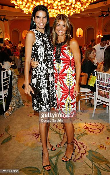 Actresses Angie Harmon and Lori Loughlin attend the CHIPS Spring Luncheon and Fashion Show Honoring Tory Burch at the Beverly Hills Hotel on May 9...