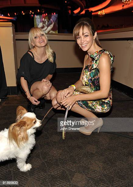 Actresses Anna Faris and Autumn Reeser at the Best Friends Animal Society's 2009 Lint Roller Party at the Hollywood Palladium on October 3 2009 in...