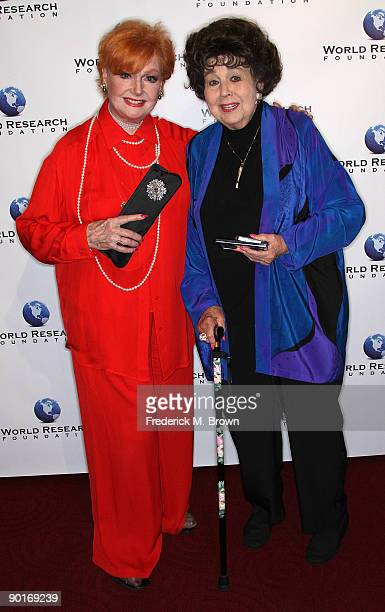 Actresses Anne Robinson and Jane Withers attend the premiere of 'Mary Pickford The Muse of Music' at the Academy of Motion Pictures Arts Sciences on...