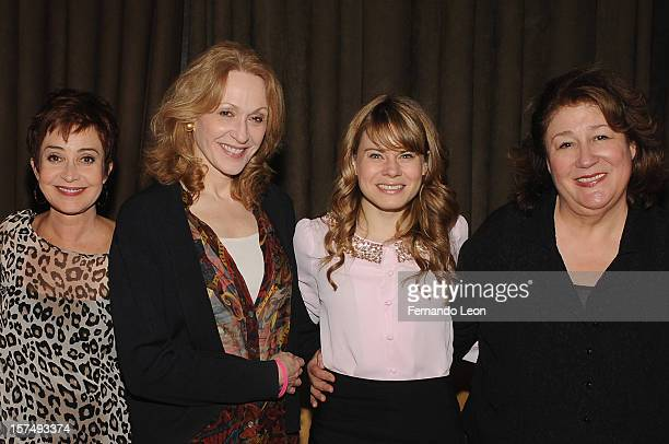 Actresses Annie Potts Jan Maxwell Celia KeenanBolger and Margo Martindale attend the after party for the 25th anniversary celebrity stage reading of...