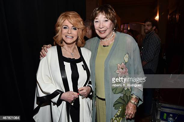 Actresses AnnMargret and Shirley MacLaine attend day two of the 2015 TCM Classic Film Festival on March 27 2015 in Los Angeles California 25064_004