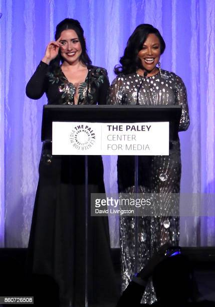 Actresses Ariadne Diaz and Lynn Whitfield speak at Paley Honors in Hollywood A Gala Celebrating Women in Television at the Beverly Wilshire Four...