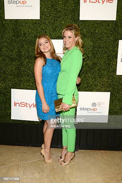 Actresses Ariel Winter and Julie Bowen attend Step Up Women's Network 10th annual Inspiration Awards at The Beverly Hilton Hotel on May 31 2013 in...