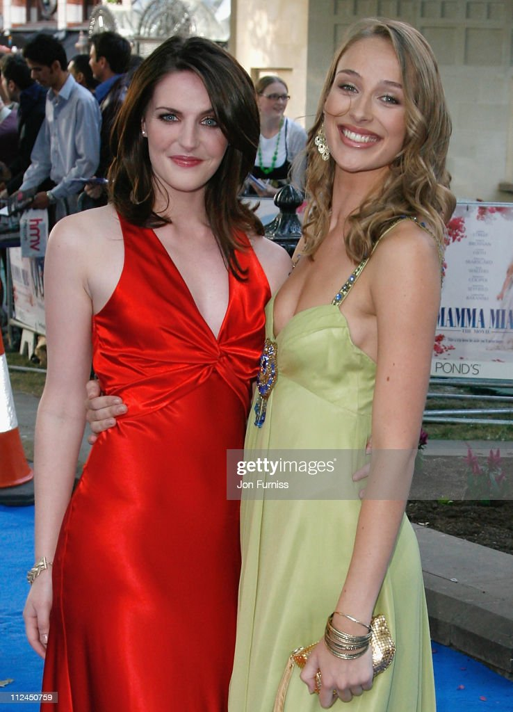 Actresses Ashley Lilley and Rachel McDowall attend the ...