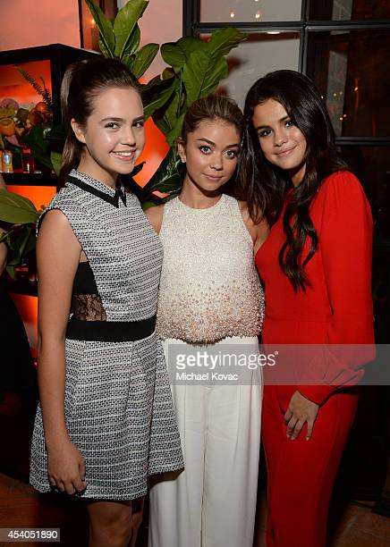 Actresses Bailee Madison Sarah Hyland and Selena Gomez attend Variety and Women in Film Emmy Nominee Celebration powered by Samsung Galaxy on August...