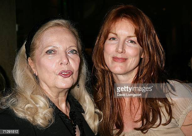 Actresses Barbara Bain and Kathleen York arrive for the 33rd Annual Vision Awards at the Beverly Hilton on June 24 2006 in Beverly Hills California