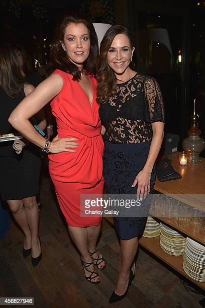 Actresses Bellamy Young and Julie Benz attend TACORI'S Annual Club TACORI 2014 Event at Hyde Lounge on October 7 2014 in West Hollywood California