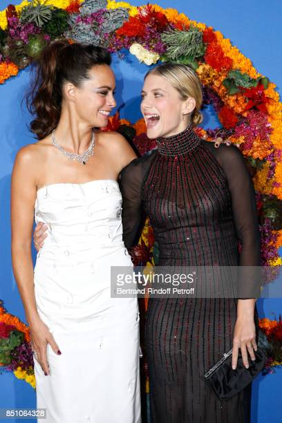 Actresses Berenice Bejo and Melanie Laurent attend the Opening Season Gala Ballet of Opera National de Paris Held at Opera Garnier on September 21...