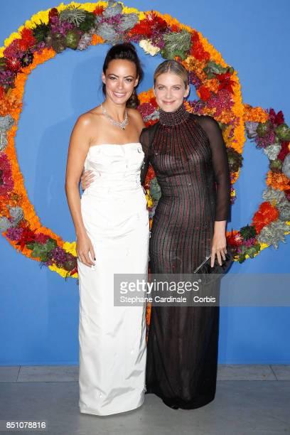 Actresses Berenice Bejo and Melanie Laurent attend the Opening Season Gala at Opera Garnier on September 21 2017 in Paris France