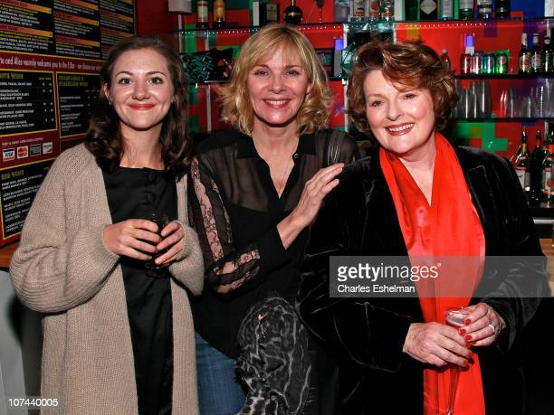 Actresses Beth Cooke Kim Cattrall and Brenda Blethyn attend the opening night of Haunted at 59E59 Theaters on December 8 2010 in New York City