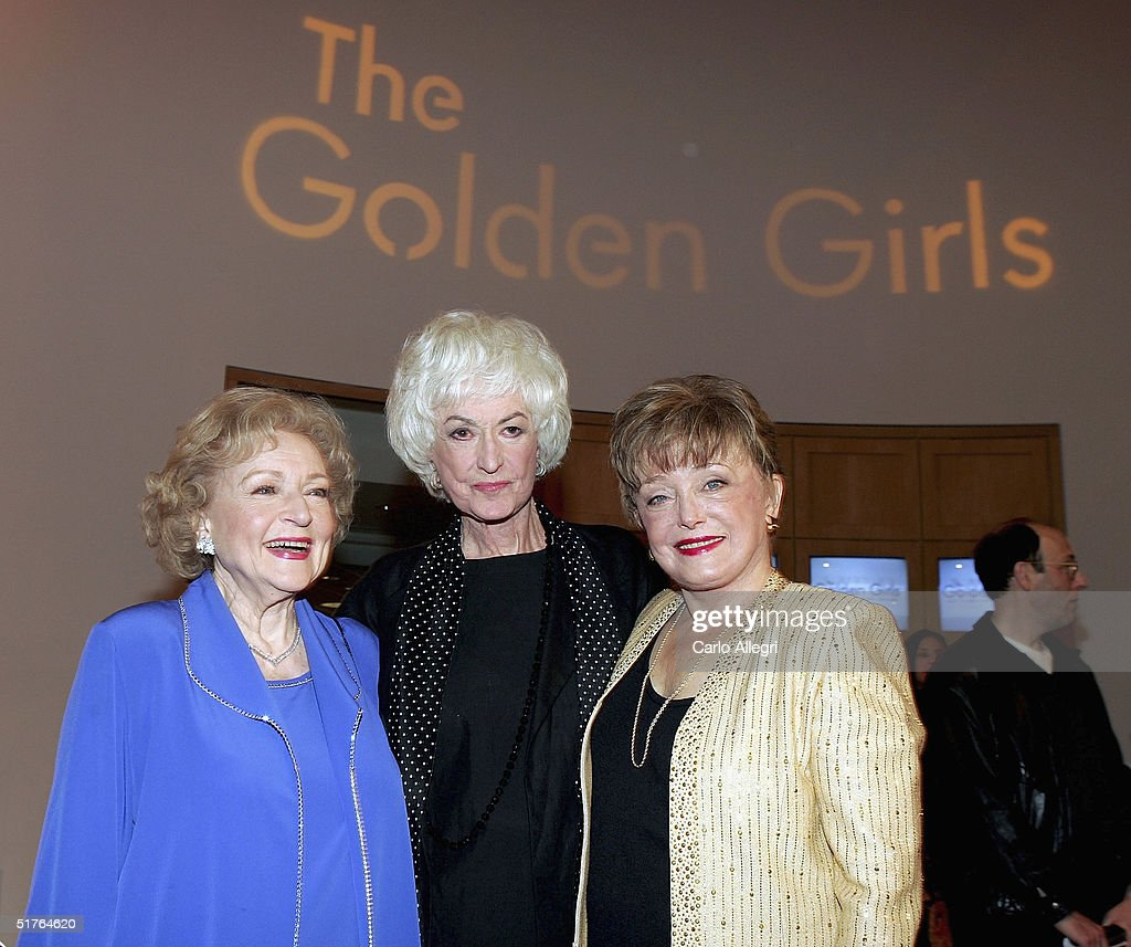 Bea Arthur Arrive At The 6th Annual Tv Land Awards In: Actresses Betty White, Bea Arthur And Rue McClanahan