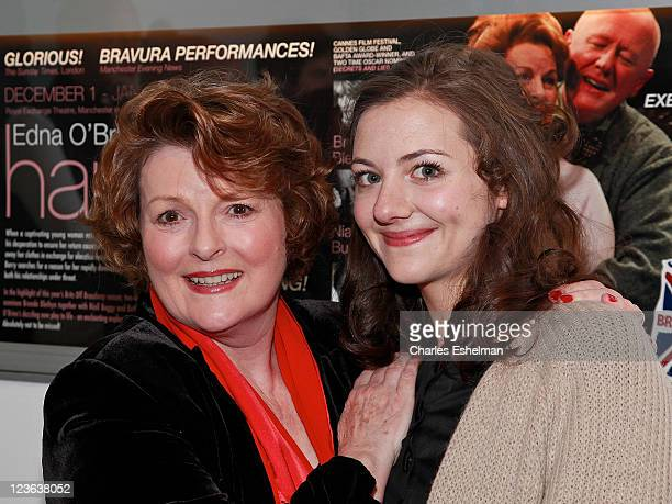 Actresses Brenda Blethyn and Beth Cooke attend the opening night of Haunted at 59E59 Theaters on December 8 2010 in New York City